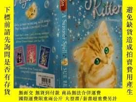 二手書博民逛書店magic罕見Kitten:A Summer Spell:魔術小貓:夏天拼寫 Y200392