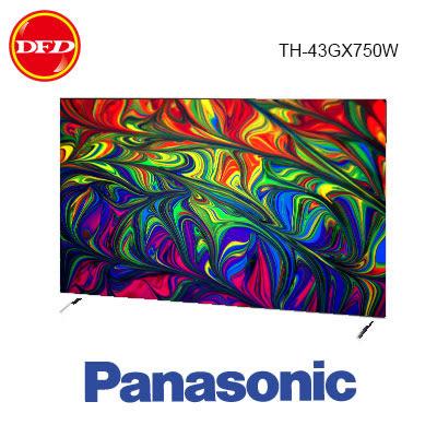 國際 TH-43GX750W LED液晶電視 43吋4K智慧聯網 公貨 送北縣市桌裝 43GX750