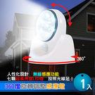 360度旋轉調整感應燈 1入-賣點購物