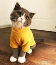 寵物貓咪衣服幼貓小奶貓無毛貓狗狗網紅秋冬衣服可愛打底衫防掉毛  聖誕節免運