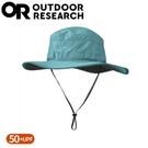 【Outdoor Research 美國 女 抗UV透氣中盤帽《藍綠》】243442/遮陽帽/圓盤帽/登山健行