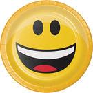 7吋圓盤8入-笑臉