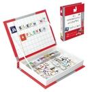 【法國 Janod】磁鐵遊戲書 英文字母...