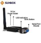 藍芽 轉 RS232 轉換器 - SUNBOX