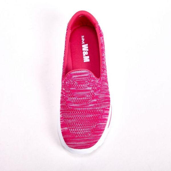 W&M MODARE 飛線編織休閒 女鞋-桃(另有橘/藍)