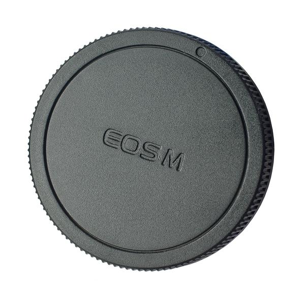 又敗家@Canon副廠後蓋佳能後蓋EOS-M鏡頭後蓋EOSM尾蓋EF-M背蓋EFM鏡頭保護蓋EB鏡頭後蓋rear cap