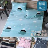 專櫃級法蘭絨床包枕套組 加大6x6.2尺 不含被套 纖細保暖 不掉毛 不掉色 法萊絨 BEST寢飾 F1