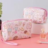 化妝包可愛日系收納袋便攜大容量化妝品袋女手拎【聚寶屋】