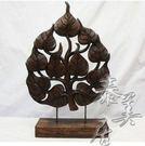 木雕工藝品 東南亞風格 工藝擺件 家裝飾品原木雕菩提樹