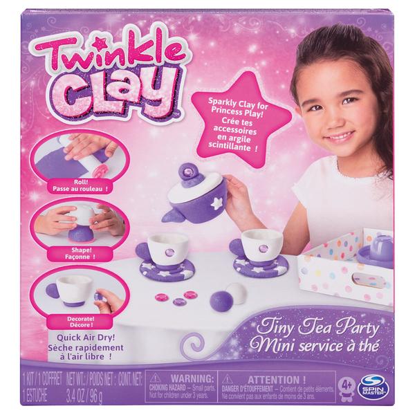 Twinkle Clay 魔法黏土烤箱 - 小茶具遊戲組