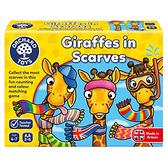 【英國 Orchard Toys】OT-070 兒童桌遊-配對遊戲 長頸鹿圍多多 Giraffes in Scarves