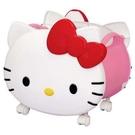 【震撼精品百貨】Hello Kitty_凱蒂貓~Sanrio HELLO KITTY 造型置物盒附輪#31335