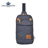 【COLORSMITH】SP8・方型單肩後背包-灰色・SP8-1327-GY