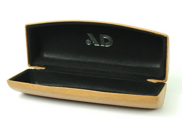 AD光學眼鏡專用木紋設計超質感眼鏡盒