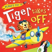 《幼兒立體書》TIGER TAKES OFF /動物馬戲團