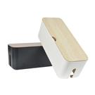 大號電線收納盒插線板收納盒集線盒充電數據線電源線插座整理線盒ATF 伊衫風尚