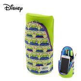 【日本正版】三眼怪 SMA-STA 磁吸 直立式筆盒 鉛筆盒 桌面置物筒 玩具總動員 迪士尼 Disney - 565361