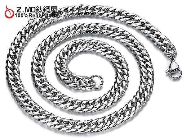 [Z-MO鈦鋼屋]316L鈦鋼/造型鍊條/男生單鏈子/配墜鏈款式/不生鏽防過敏單件價【DKS719】