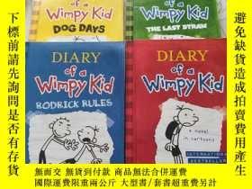 二手書博民逛書店Diary罕見of a Wimpy Kid : Diary of