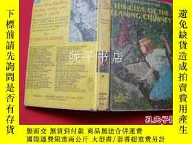 二手書博民逛書店THE罕見CLUE OF THE LEANING CHIMNEY