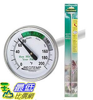 [美國直購] REOTEMP FG20P 堆肥 溫度計 Backyard Compost Thermometer