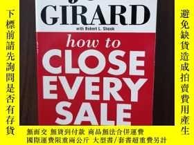 二手書博民逛書店How罕見To Close Every SaleY12800 Joe.; Shook, Robert L.;