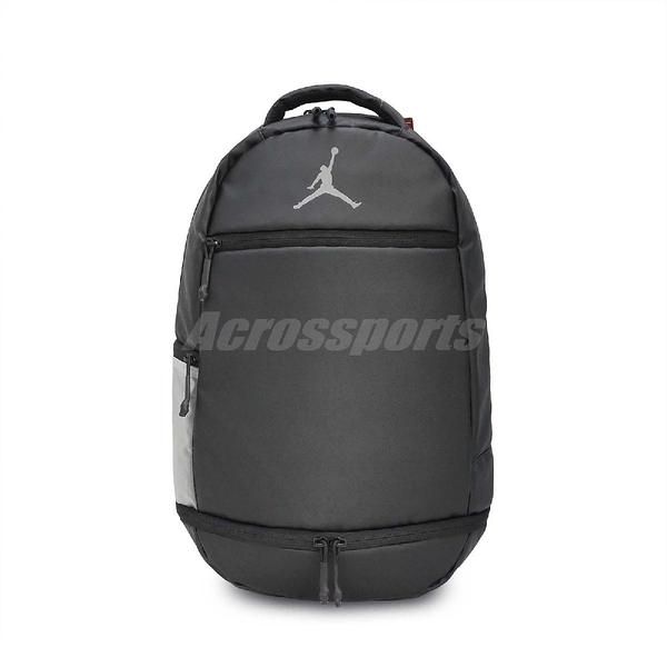 Nike 後背包 Jordan Skyline Weathered Pack Black 黑 灰 男女款 【PUMP306】 9A1930-023