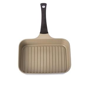 HOLA 陶瓷不沾導磁單柄煎鍋-綠