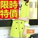 女西裝外套韓版-明星款名媛魅力休閒女外套3色54a10【巴黎精品】