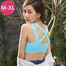 「XY」防震(M-XL)無鋼圈運動內衣,...