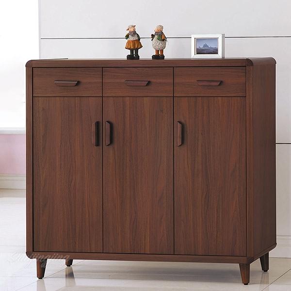 【水晶晶家具/傢俱首選】CX1623-5 北歐121公分防蛀木心板開門鞋櫃