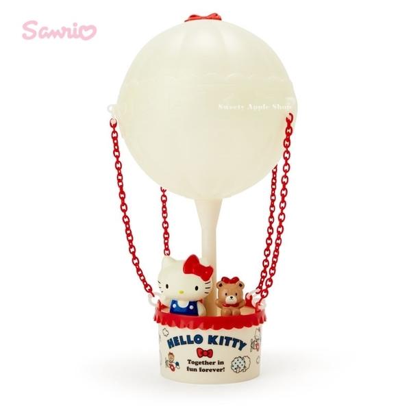 日本限定  HELLO KITTY 熱氣球主題造型 夜燈 / 房間燈 / 裝飾燈 (USB充電或電池)