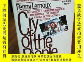 二手書博民逛書店Cry罕見Of The People: The Struggle