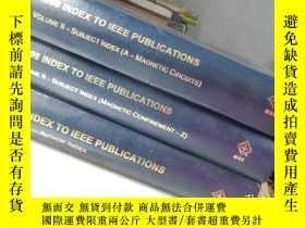 二手書博民逛書店1998罕見Index to IEEE Publications