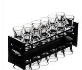 厚底水晶玻璃小酒杯LVV2171【KIKIKOKO】