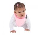 紐西蘭 Mum 2 Mum 機能型神奇三角口水巾圍兜-粉紅 吃飯衣 口水衣 防水衣
