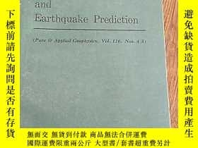 二手書博民逛書店Rock罕見Friction and Earthquake Pr