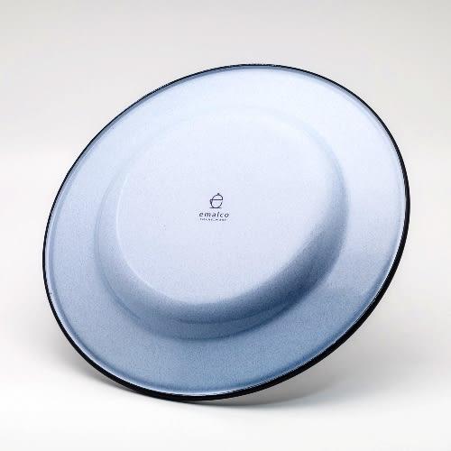 野餐盤-emalco森林之狼琺瑯不銹鋼餐盤一入