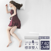 House Door 高密度防黴防蹣抗菌記憶床墊厚度3英寸-標準雙人