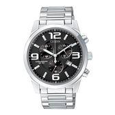 CITIZEN OXY 個性采風計時腕錶/黑面/AN7050-56E