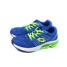 LOTTO 運動鞋 針織 藍色 童鞋 LT0AKR1615 no031