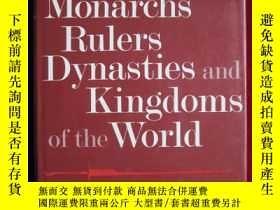 二手書博民逛書店Monarchs,罕見Rulers, Dynasties and