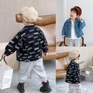 男童外套 童裝寶寶牛仔外套秋季新款韓版男童夾克開衫中小童百搭上衣潮 快速出貨
