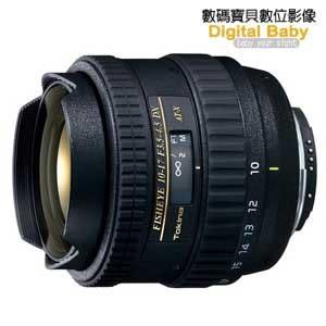 Tokina AT-X 107 DX 10-17mm F3.5-4.5 魚眼鏡頭 【6期0利率,贈鏡頭三寶,立福公司貨】 for Canon / Nikon 10-17