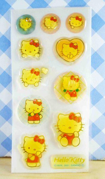 【震撼精品百貨】Hello Kitty 凱蒂貓~KITTY貼紙-走路紅