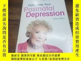 二手書博民逛書店Overcome罕見Your Postnatal Depress