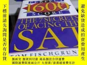 二手書博民逛書店英文原版精裝罕見1600 perfect score--the