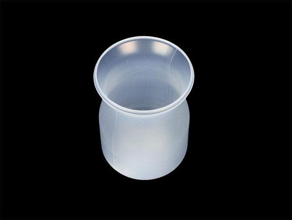 10入 120cc 牛奶瓶布丁杯 塑膠保羅瓶 附蓋  DD36