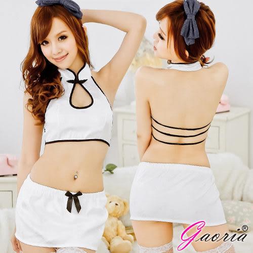 情趣內睡衣 【Gaoria】胭脂美人性感旗袍兩件式情趣睡衣N3-0018