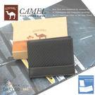 CAMEL卡梅爾駱駝真皮夾牛皮包短夾男夾-中翻可拆11302-2咖啡